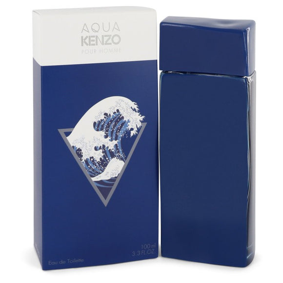 Aqua Kenzo 3.30 oz Eau De Toilette Spray For Men by Kenzo