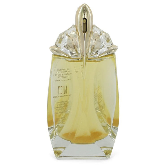Alien Eau Extraordinaire 2.00 oz Eau De Toilette Spray Refillable (Gold Shimmer Edition Tester) For Women by Thierry Mugler