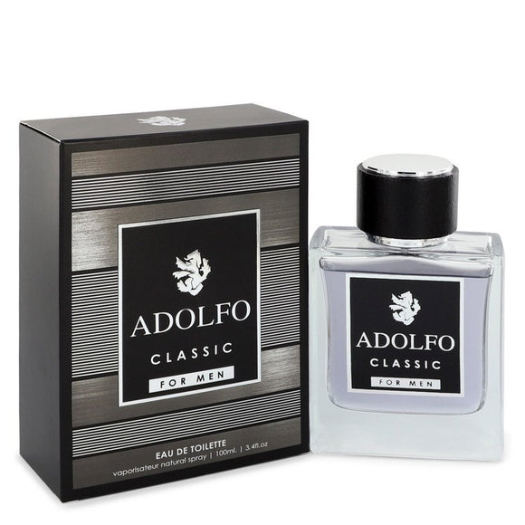 Adolfo Classic 3.40 oz Eau De Toilette Spray For Men by Francis Denney