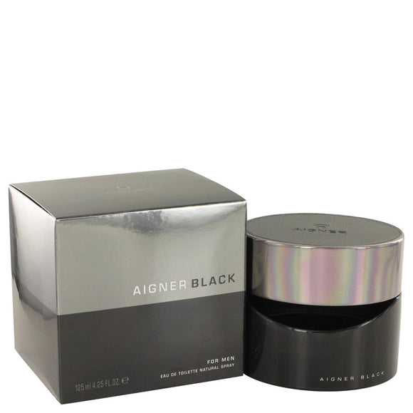 Aigner Black 4.20 oz Eau De Toilette Spray For Men by Etienne Aigner