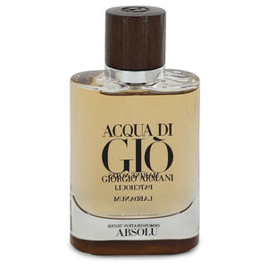 Acqua Di Gio Absolu 2.50 oz Eau De Parfum Spray (Tester) For Men by Giorgio Armani