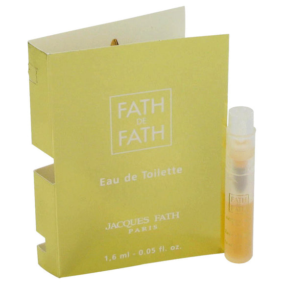FATH DE FATH Vial (sample) For Women by Jacques Fath