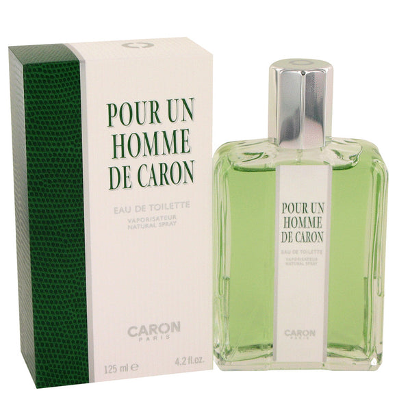 CARON Pour Homme 4.20 oz Eau De Toilette Spray For Men by Caron