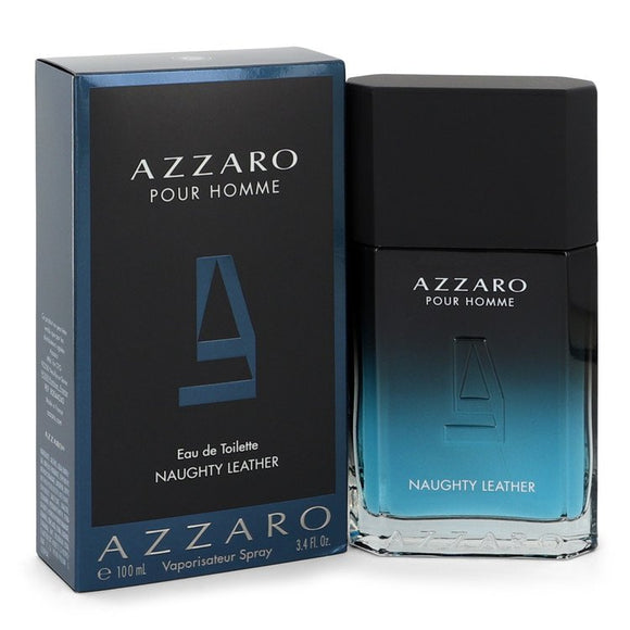 Azzaro Naughty Leather 3.40 oz Eau De Toilette Spray For Men by Azzaro