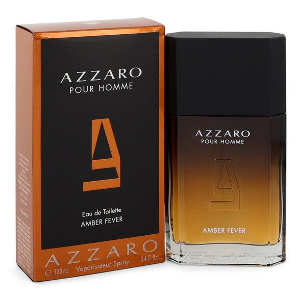 Azzaro Amber Fever 3.40 oz Eau De Toilette Spray For Men by Azzaro