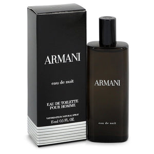 Armani Eau De Nuit 0.50 oz Mini EDT Spray For Men by Giorgio Armani