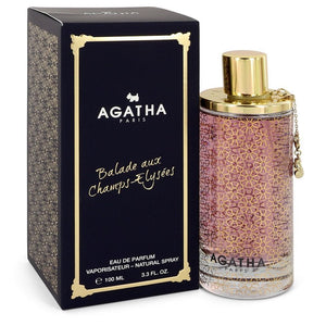 Agatha Balade Aux Champs Elysees 3.30 oz Eau De Parfum Spray For Women by Agatha Paris