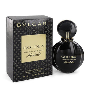 Bvlgari Goldea The Roman Night Absolute 2.50 oz Eau De Parfum Spray For Women by Bvlgari