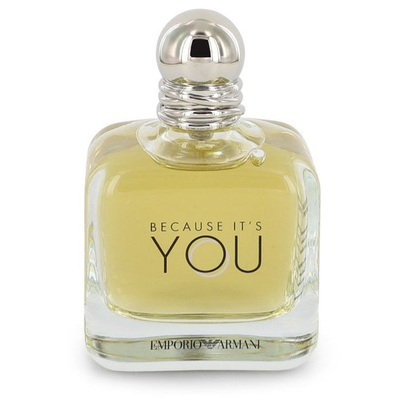Because It`s You 3.40 oz Eau De Parfum Spray (Tester) For Women by Giorgio Armani