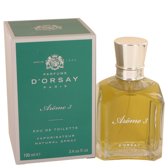 Arome 3 3.40 oz Eau De Toilette Spray (Unisex) For Women by D`orsay