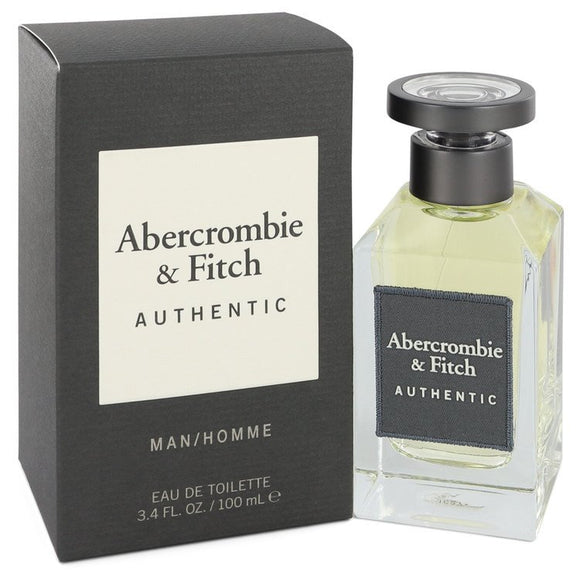 Abercrombie & Fitch Authentic 3.40 oz Eau De Toilette Spray For Men by Abercrombie & Fitch