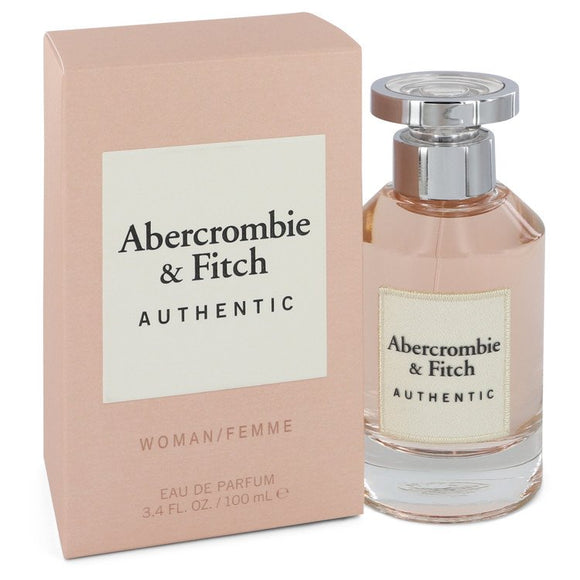 Abercrombie & Fitch Authentic 3.40 oz Eau De Parfum Spray For Women by Abercrombie & Fitch