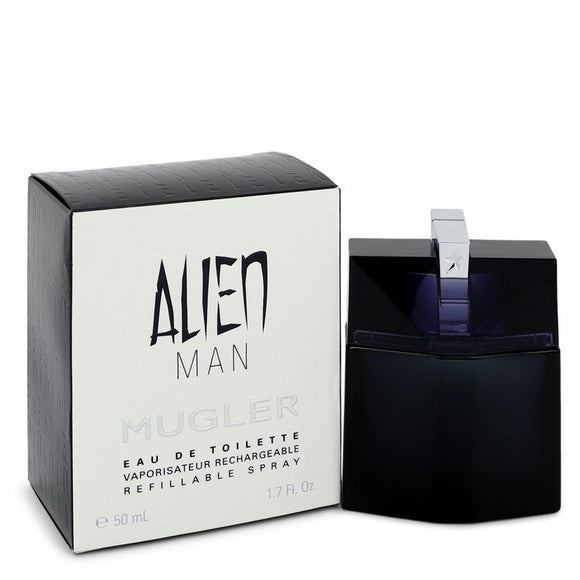 Alien Man 1.70 oz Eau De Toilette Refillable Spray For Men by Thierry Mugler