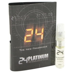 24 Platinum The Fragrance 0.05 oz Vial (sample) For Men by ScentStory