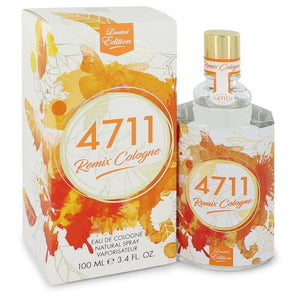 4711 Remix 3.40 oz Eau De Cologne Spray (Unisex 2018) For Men by 4711