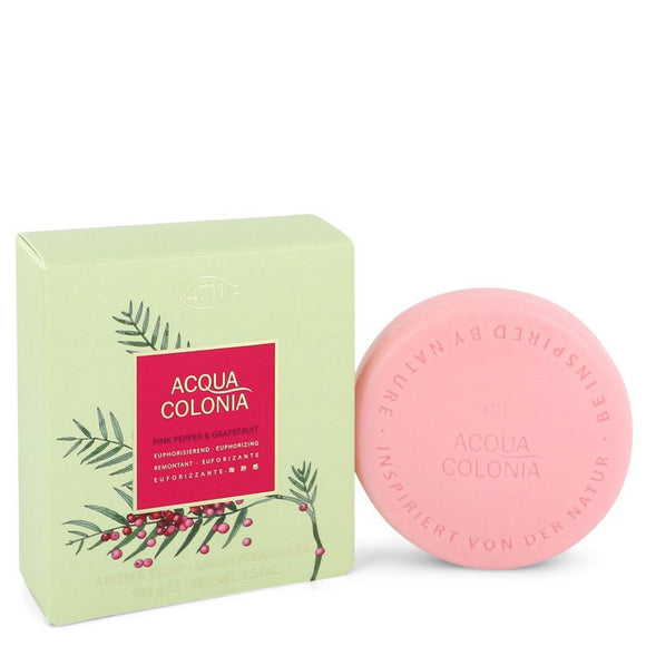 4711 Acqua Colonia Pink Pepper & Grapefruit 3.50 oz Soap For Women by Maurer & Wirtz