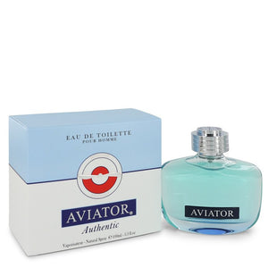 Aviator Authentic 3.30 oz Eau De Toilette Spray For Men by Paris Bleu