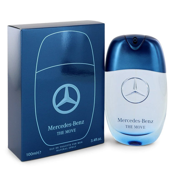 Mercedes Benz The Move Eau De Toilette Spray For Men by Mercedes Benz