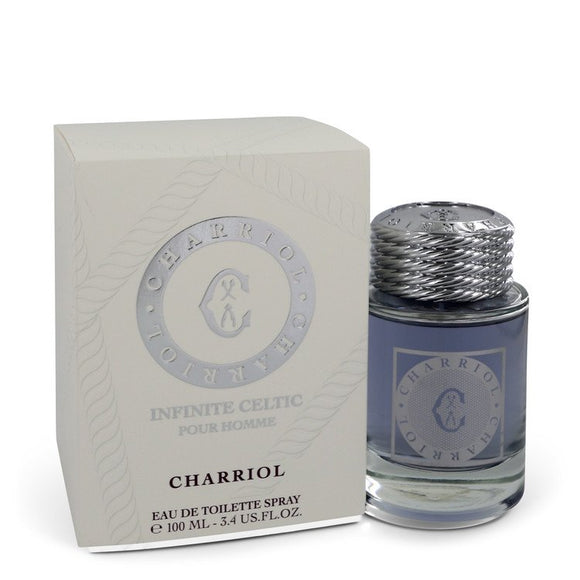 Charriol Infinite Celtic Eau De Toilette Spray For Men by Charriol