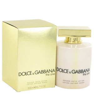 The One Golden Satin Lotion For Women by Dolce & Gabbana