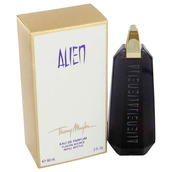 Alien Gift Set  2 oz Eau De Parfum Spray Refillable + 1.7 oz Body Lotion + 0.3 oz Mini EDP Refillable Spray For Women by Thierry Mugler