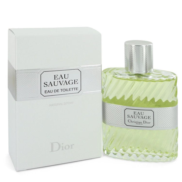 EAU SAUVAGE Eau De Toilette Spray (unboxed) For Men by Christian Dior