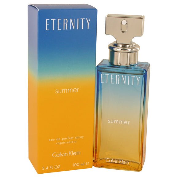 Eternity Summer Eau De Parfum Spray (2020) For Women by Calvin Klein