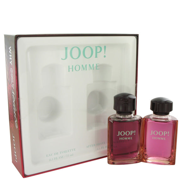 JOOP Gift Set  2.5 oz Eau De Toilette Spray + 2.5 oz After Shave For Men by Joop!
