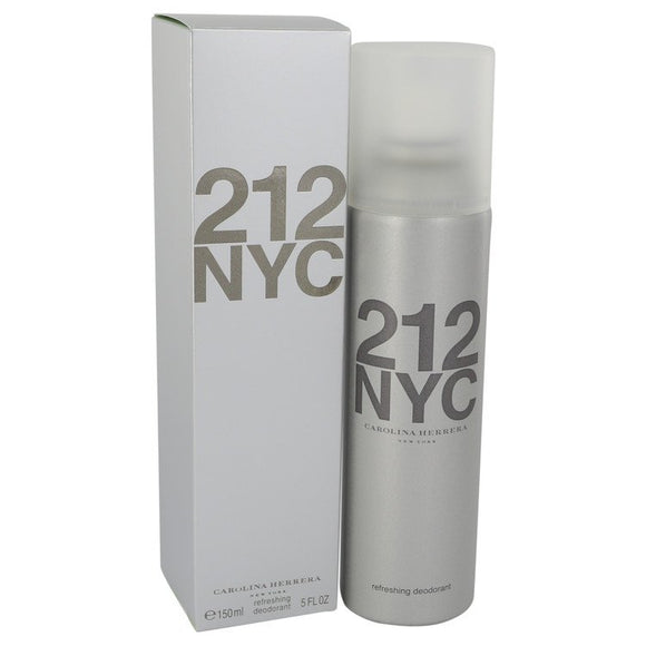 212 5.00 oz Deodorant Spray (Can) For Women by Carolina Herrera