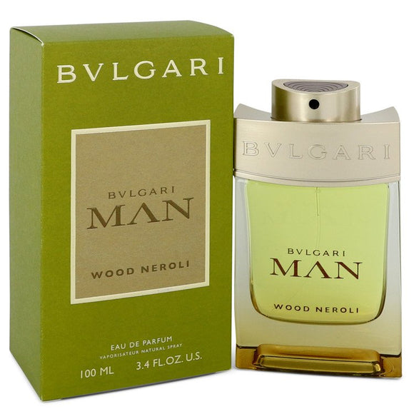 Bvlgari Man Wood Neroli Eau De Parfum Spray For Men by Bvlgari