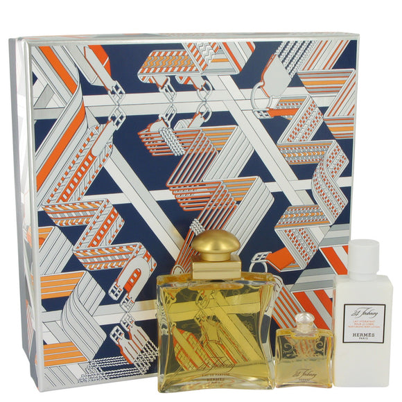 24 Faubourg Gift Set - 1.6 oz Eau De Parfum Spray + 1.35 oz Body Lotion + .25 oz Mini EDP For Women by Hermes