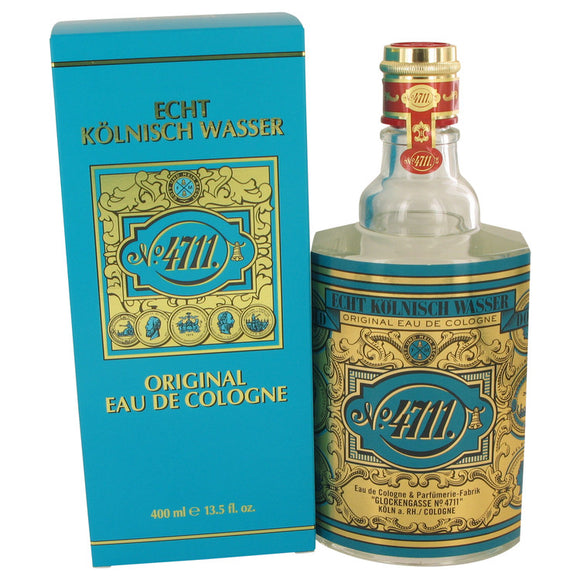 4711 13.50 oz Eau De Cologne (Unisex-Unboxed) For Men by Muelhens