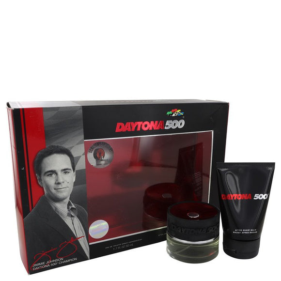Daytona 500 Gift Set - 1.7 oz Eau De Toilette Spray + 3.4 oz After Shave Balm For Men by Elizabeth Arden