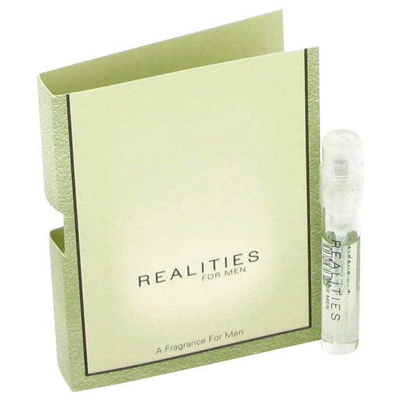 REALITIES Vial (sample) For Men by Liz Claiborne
