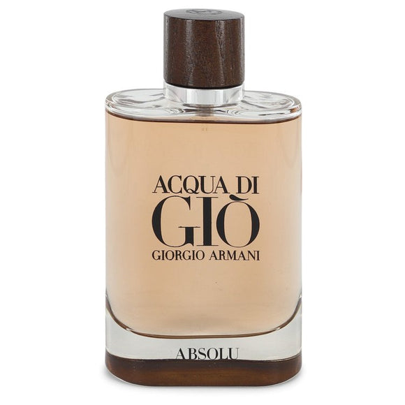 Acqua Di Gio Absolu Eau De Parfum Spray (unboxed) For Men by Giorgio Armani