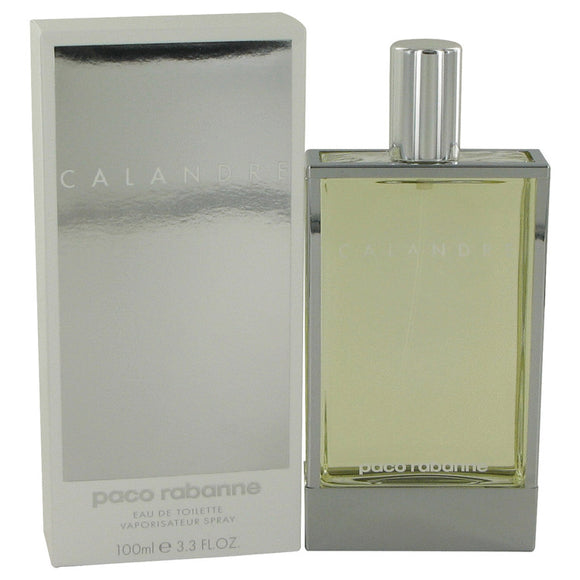 CALANDRE 3.40 oz Eau De Toilette Spray For Women by Paco Rabanne