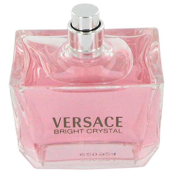 Bright Crystal 3.00 oz Eau De Toilette Spray (Tester) For Women by Versace