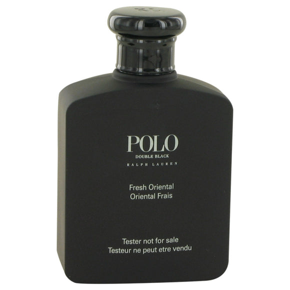 Polo Double Black Eau De Toilette Spray (Tester) For Men by Ralph Lauren