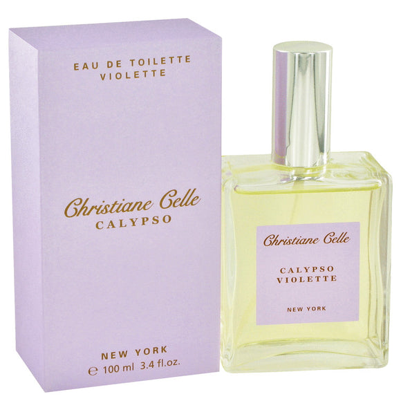 Calypso Violette 3.40 oz Eau De Toilette Spray For Women by Calypso Christiane Celle