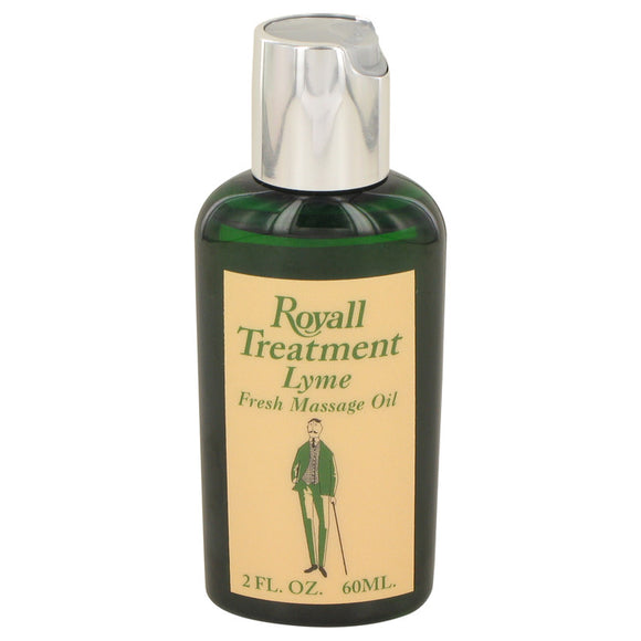 ROYALL LYME Fresh Massage Oil For Men by Royall Fragrances