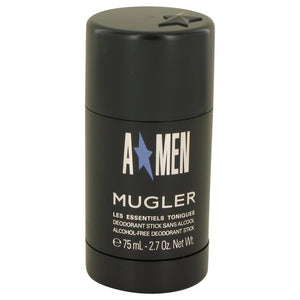 ANGEL 2.60 oz Deodorant Stick (Black Bottle) For Men by Thierry Mugler
