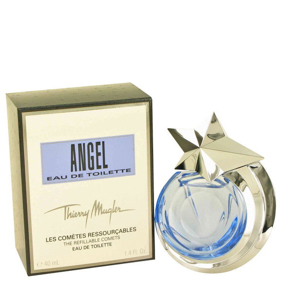 ANGEL 1.40 oz Eau De Toilette Spray Refillable For Women by Thierry Mugler