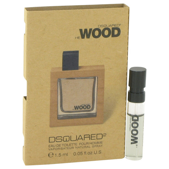 He Wood Vial (sample) For Men by Dsquared2