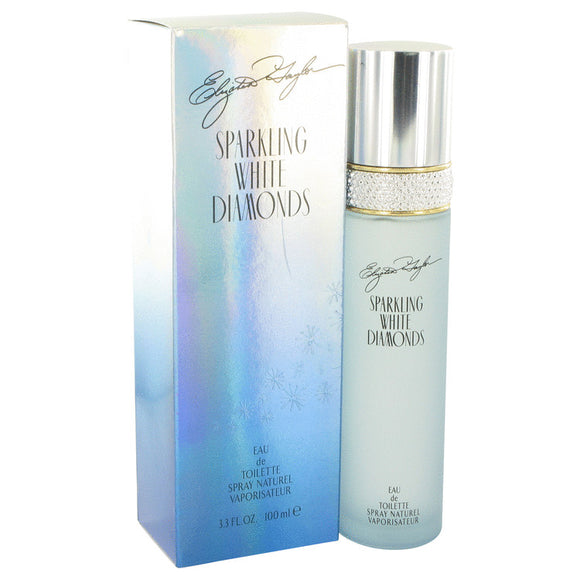 Sparkling White Diamonds Eau De Toilette Spray For Women by Elizabeth Taylor
