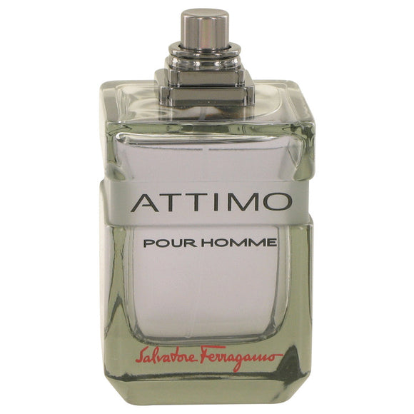 Attimo 3.40 oz Eau De Toilette Spray (Tester) For Men by Salvatore Ferragamo