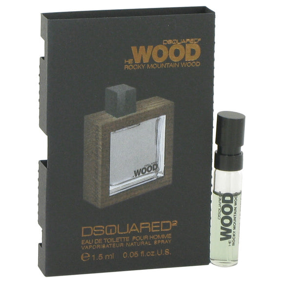 He Wood Rocky Mountain Wood Vial (sample) For Men by Dsquared2