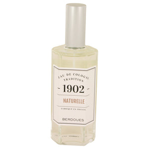 1902 Natural 4.20 oz Eau De Cologne Spray (Unisex-unboxed) For Men by Berdoues