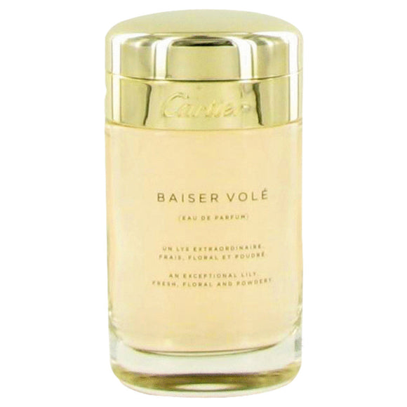 Baiser Vole 3.40 oz Eau De Parfum Spray (Tester) For Women by Cartier