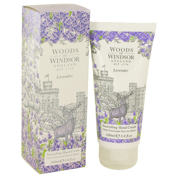 Lavender Nourishing Hand Cream For Women by Woods of Windsor