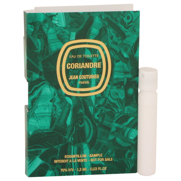 CORIANDRE Vial (sample) For Women by Jean Couturier